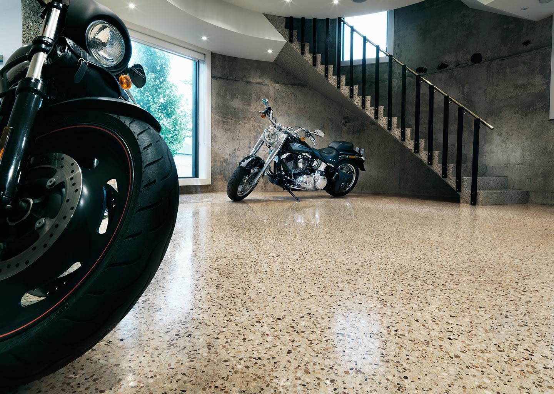 hiperfloor start - Gepolijst beton is geschikt voor zowel oude als nieuwe vloeren