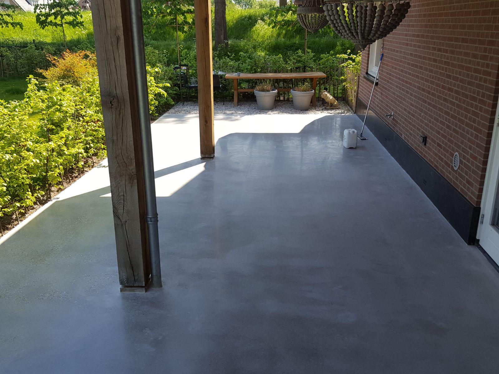schuren betonvloer